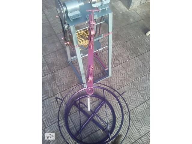 Станок полуавтомат для производства сетки рабица