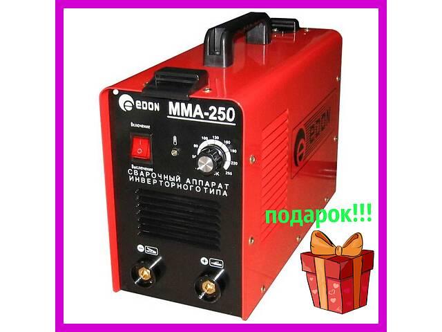 продам Сварочный инвертор Edon MMA-250E mini с дисплеем в кейсе + подарок!!! бу в Одессе