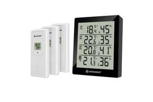 Термометр-гигрометр Bresser Temeo Hygro Quadro black Brssr(Grmny)923261