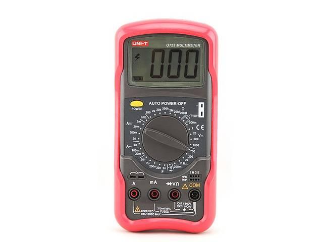 Цифровой мультиметр UNI-T UT53 (UTM 153)- объявление о продаже  в Дубні
