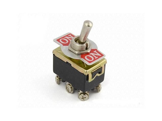 Тумблер KN(3)С-202 ON-ON       (6 pin) 15А;  250VAC  Daier