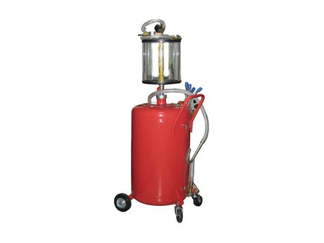 продам Установка для вакуумной откачки масла с мерной колбой (80 л) G.I.KRAFT B8010KV бу в Дубно