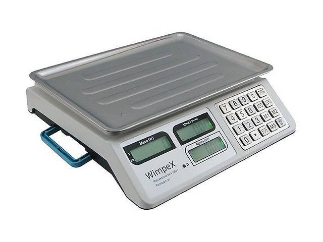 бу Весы для рынка торговые электронные Wimpex WX-5004 до 50кг настольные базарные в Харькове