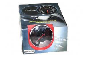 Вольтметр стрелочный 602701 LED d60мм на ножке в корпусе