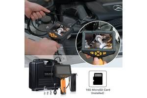 Видеоэндоскоп бороскоп цифровой технический эндоскоп видеоскоп NTS300 1м/3м/5м 3,9мм/5,5мм/7,6мм/8мм(две камеры)