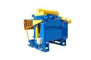 Индукционная плавильная печь ИТПЭ емкость 1 т. мощностью 800 кВт