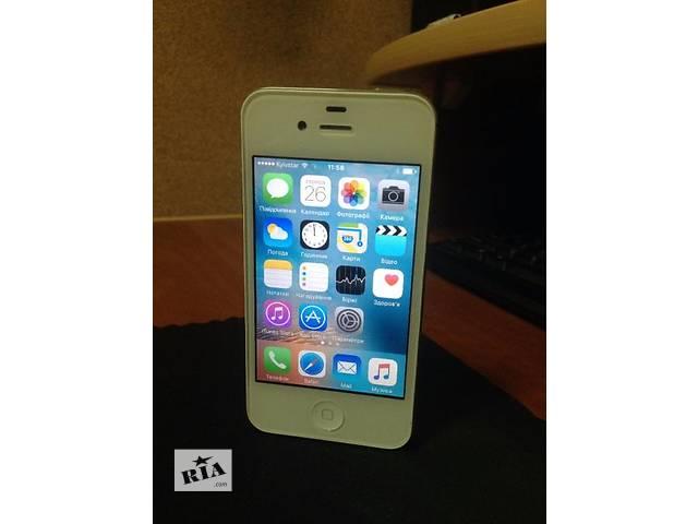 продам IPhone 4s neverlock оригинал супер состояние! бу в Старом Самборе