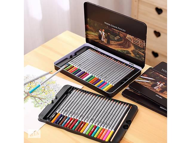 купить бу Акварельные карандаши Deli 72 цветов Faber-Castell Marco Touchfive в Харькове