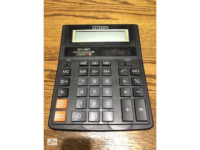продам Калькулятор CITIZEN SDC - 888T бу в Киеве