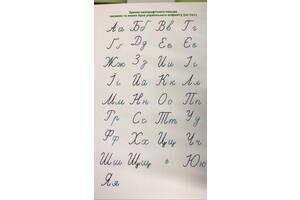 Комплект учебно-наглядных средств для обучения грамоте/письма (на магнитах)