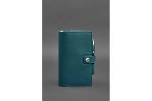 Кожаный блокнот (Софт-бук) 4.0 зеленый Краст BlnkntBN-SB-4-malachite