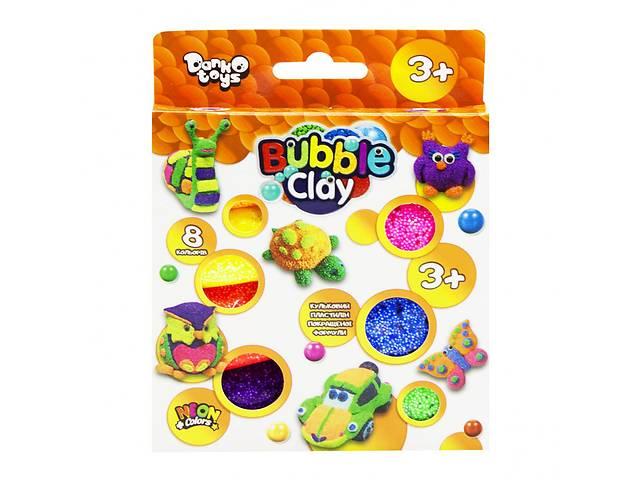 """купить бу Креативна творчість """"Bubble Clay"""" 8 кольорів укр (20) BBC-04-01U в Одессе"""