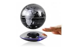 Левитирующий глобус 6 дюймов Levitating globe Silver (LPG6001S)