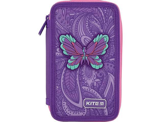 продам Пенал без наполнения Kite Education Flowery фиолетовый бу в Киеве
