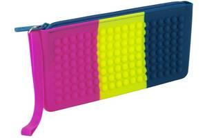 Пенал для школы Kite Education разноцветный