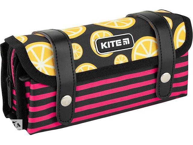 продам Пенал школьный Kite City розовый бу в Киеве