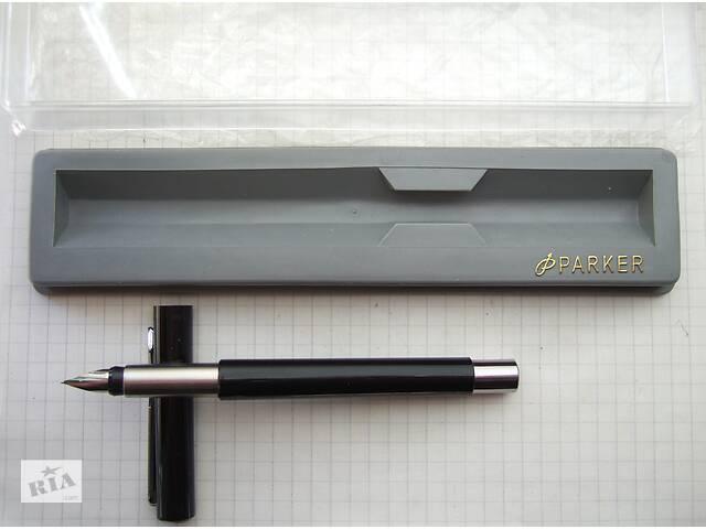 продам Перьевая ручка Parker Vector, made in USA. Перо F Оригинал Пишет тонко  бу в Киеве