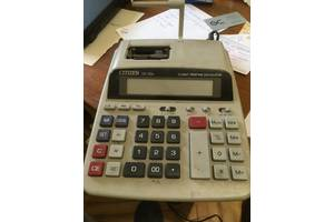 Продам Калькулятор CITIZEN CX 121 / 121 II / 131 II б/у рабочий