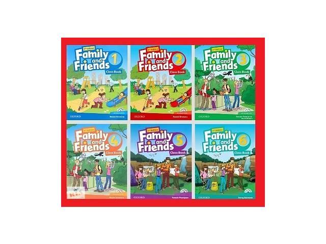 Учебники по английскому языку Family and Friends- объявление о продаже   в Украине