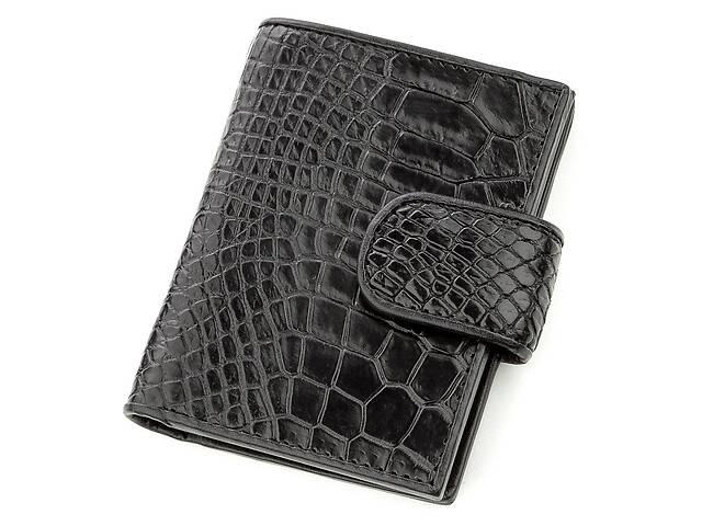 продам Визитница мужсккая Ekzotic Leather из натуральной кожи крокодила Черная () Неуказанst 15 бу в Киеве