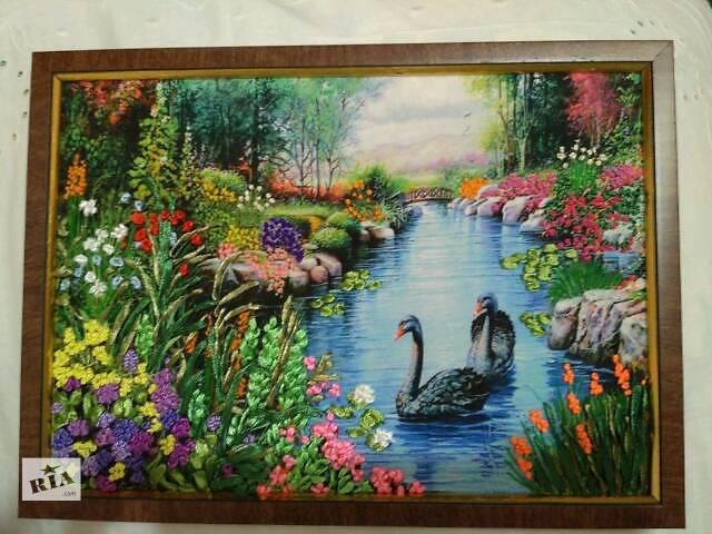 бу картина Лебединое озеро в Харькове
