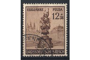 1944 - Рейх - Город Фулда Mi.886 _гаш