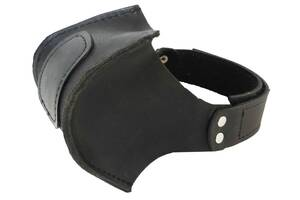 Автопятка кожаная для мужской обуви чёрная 608836