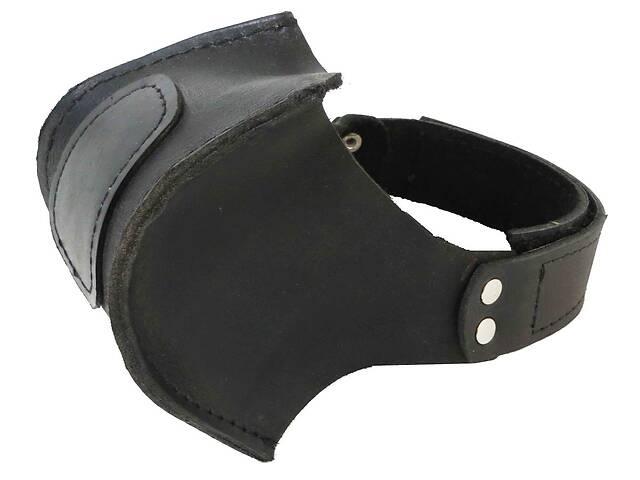 продам Автопятка кожаная для мужской обуви чёрная 608836 бу в Киеве