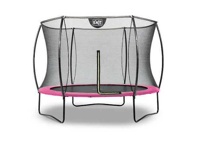 Батут EXIT Silhouette 244 см с защитной сеткой розовый- объявление о продаже  в Одессе