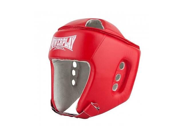 Боксерский PowerPlay шлем тренировочный красный L 3084 SKL24-190069- объявление о продаже  в Одессе