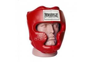 Боксерський шолом тренувальний PowerPlay 3043 Червоний XS SKL24-252442