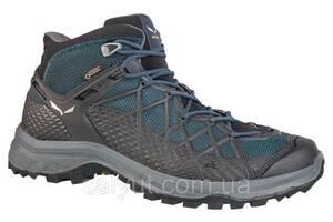 Ботинки Salewa MS Wild Hiker Mid GTX, Серо-синий (46)