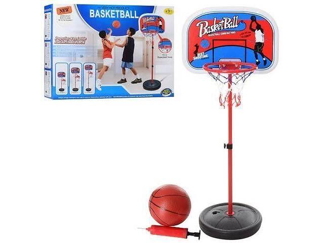 бу Детское баскетбольное кольцо MR 0335 на стойке с мячом и насосом, высота 160 см в Дубно