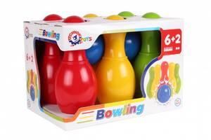 Детский набор для игры в боулинг ТехноК (4692)  Спортивные подарки для детей