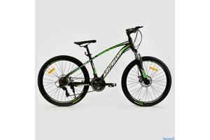 """Дизайнерский горный велосипед 26"""" CORSO AIRSTREAM (Shimano, disk, 21sp)"""