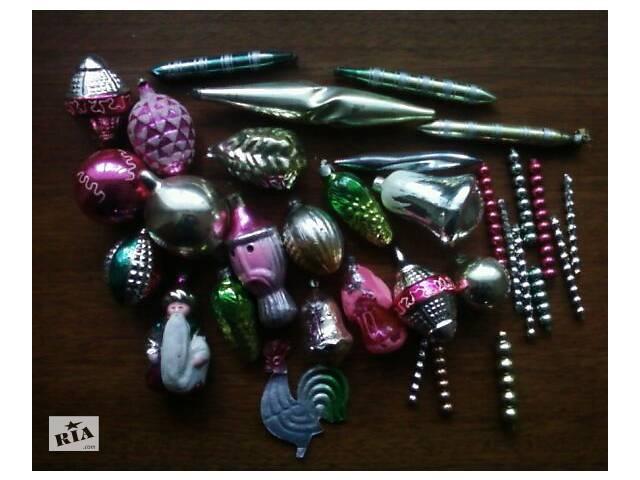 продам ёлочные новогодние  игрушки/ссср бу в Луцке