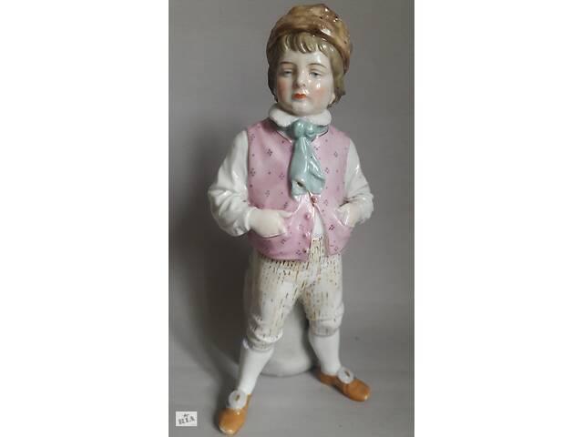 продам Фарфорвая статуэтка, мальчик Германия, Thuringen кон.19.нач. 20 в.  бу в Львове