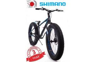 Fat Bike Гірський Велосипеди S800 HAMMER EXTRIME & quot;Колеса 24 & rsquo; & rsquo; х4,0. Алюмінієва рама 14 & rsquo; & rsquo;Японія Shimano.