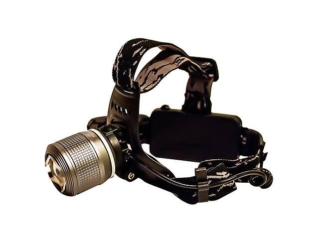 купить бу Самый яркий и мощный универсальный налобный LED фонарь на голову для рыбалки Police BL 2199-2 аккумуляторный в Харькове