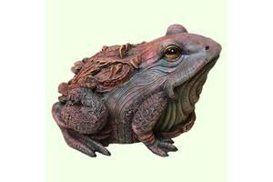 Фонтан скульптура для бассейна Жаба древесная