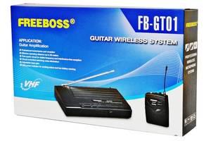 Freeboss FB-GT01 VHF беспроводной гитарный микрофон Гитарные  беспроводные системы