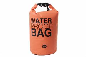Гермомішок Weatro Waterproor bag 20L Помаранчевий (8-4055)