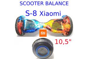 Гірocкутер 10,5 дюймів S-8 Pro led Xiaomi mini segway smart scooter balans power board міні сігвей гіроборд
