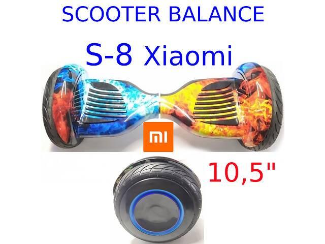 Гірocкутер 10,5 дюймів S-8 Pro led Xiaomi mini segway smart scooter balans power board міні сігвей гіроборд- объявление о продаже  в Одессе