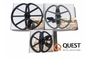 Глубинные Катушки DD для металлоискателя QUEST Q20 Q30 Q40 Q60 X5 X10