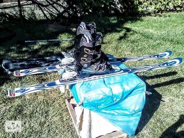 купить бу Горнолыжные ботинки Salomon IMPACT 90  41разм.(26см)  в Днепре (Днепропетровск)