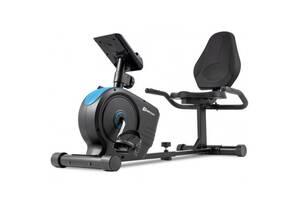 Горизонтальный велотренажер магнитный HS-2050L Beat Синий