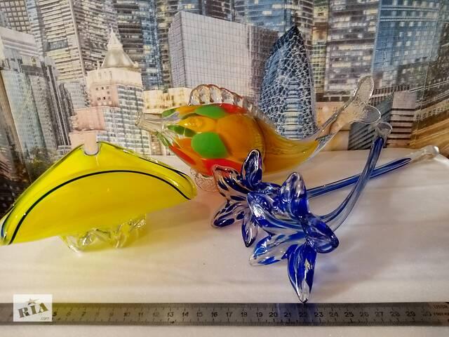 бу Гусь-хрустальный цветное стекло в Чугуеве