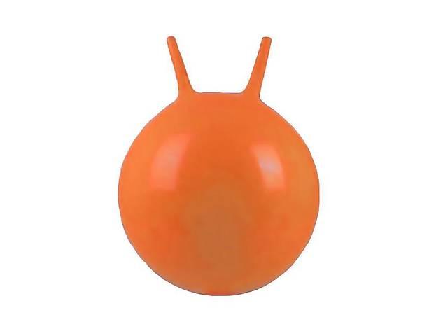 продам Гимнастический мяч для фитнеса с рожками Profi MS 0380, 45 см., оранжевый бу в Києві