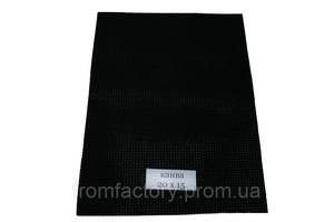 Канва вышивальная (разные цвета, 10х15, каунт 11):Черная